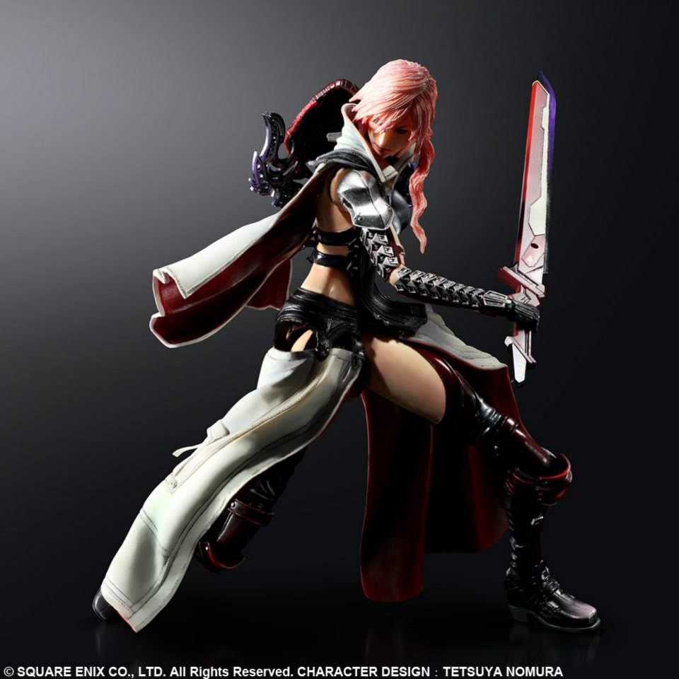Ffx Remaster Light Curtain: First Official Images Of Lightning Returns Play Arts Kai